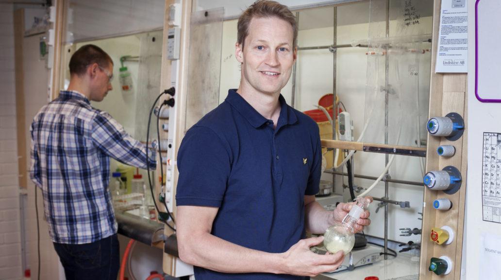 Fredrik Almqvist, professor i organisk kemi vid Umeå Universitet.