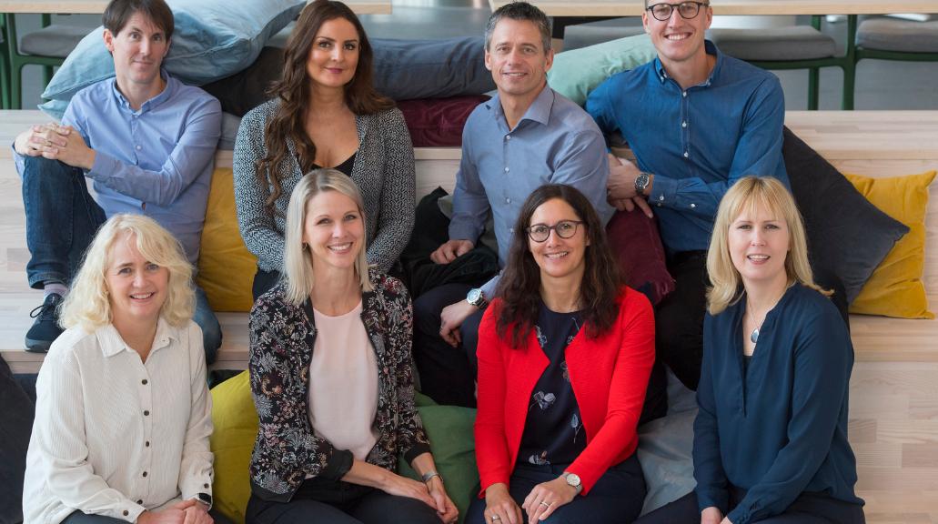 Umeå Biotech Incubator team