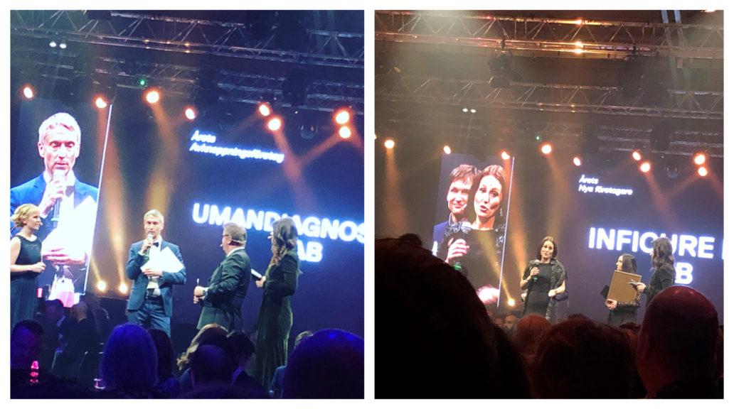 Umandiagnostics, Inficure Bio, prisutdelning Umeågalan