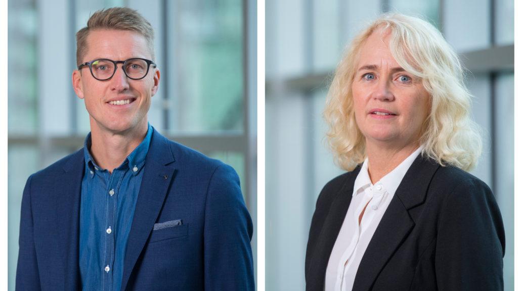Andreas Lindberg and Christin Grundström, Umeå Biotech Incubator