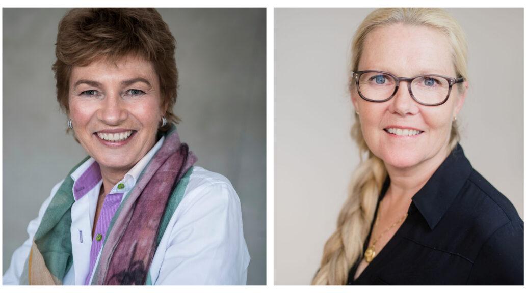 Camilla Huse Bondessson and Anette Nordvall